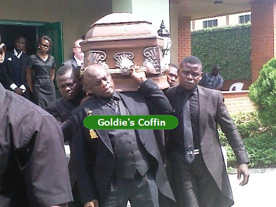 goldie harvey coffin casket
