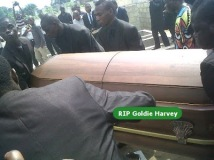 goldie harvey funeral picsf