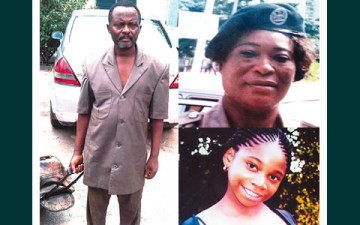"""""""HOW AND WHY I BURIED CUSTOM'S OFFICER AND DAUGHTER ALIVE""""...SUSPECT"""