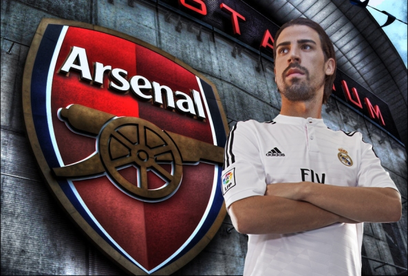KHEDIRA CONFIRMS REAL MADRID EXIT BUT ARSENAL INTEREST IS DOUBTFUL!