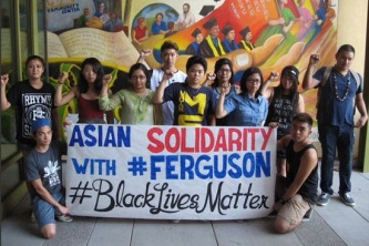 #FERGUSON… SHE'S WHITE. I'M BLACK. AND WE MARCHED IN FERGUSON TOGETHER (2)