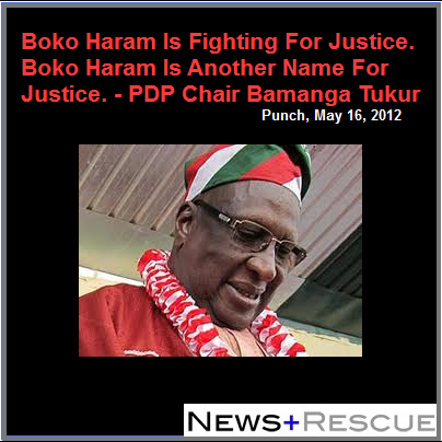 PDP LOST THE 2015 ELECTIONS BECAUSE GEJ WAS SELECTED BY SOME UNDEMOCRATIC ELEMENTS WITHIN THE PARTY!...BAMANGA TUKUR,EX CHAIR