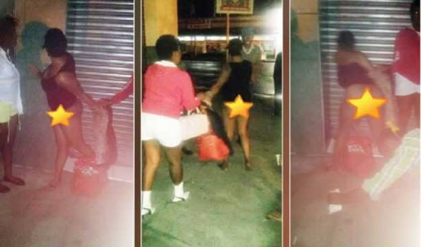 PROSTITUTE CAUGHT ON CAMERA UNDRESSING FOR COPS AS BRIBE!…PHOTOS