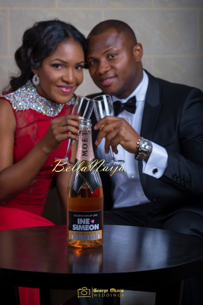 PRESIDENT JONATHAN'S DAUGHTER INE SET TO GET MARRIED TO SIMEON…SEE LABEL ON CHAMPAGNE BOTTLE  FEW WEEKS TO ELECTIONS AND WHY PDP'S PUBLIC RELATIONS OUTPUT IS ZERO!