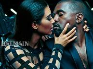 KIM KARDASHIAN AND HUSBAND IN STEAMY NEW BALMAIN CAMPAIGN!...BONUS: MOST RECENT PICS OF KIM!PICS
