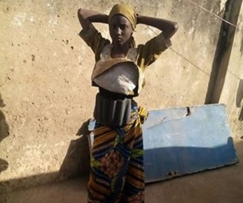 WHY IS CHAD SENDING FEMALE BOMBERS TO NIGERIA...SEE PICTURE OF LATEST SUICIDE BOMBER WHO COULD NOT DETONATE HER BOMB IN KANO!