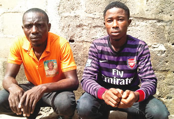 MY FAMILY BEWITCHED ME WITH ROBBERY, SAYS SUSPECT