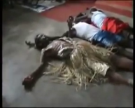 MUST SEE VIDEO...SHOCKING LIVE SPIRITUAL BATTLE BETWEEN PASTOR AND JUJU PRIESTS IN FRONT OF HIS CHURCH