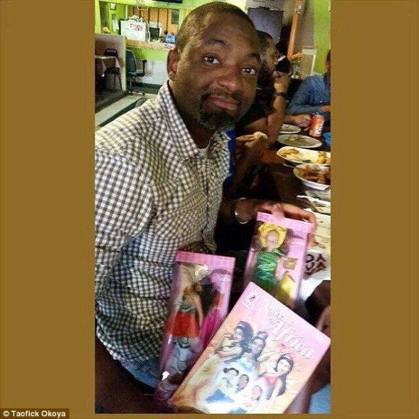NIGERIAN DOLL CREATED BY MAN WHO COULDN'T FIND A BLACK TOY FOR HIS NIECE IS SO POPULAR IN HIS COUNTRY THAT IT'S OUTSELLING BARBIE ...DAILY MAIL UK