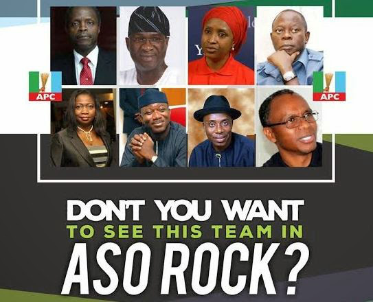 PICTURES OF NOTABLE NIGERIANS THAT WILL FOLLOW BUHARI INTO ASO ROCK IF HE EVENTUALLY WINS