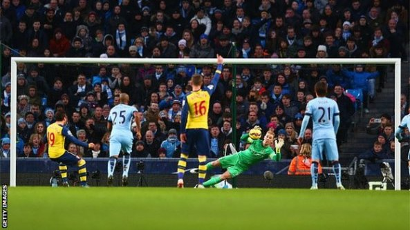 MAN CITY 0 - 2 ARSENAL... TURNING POINT FOR THE GUNNERS?