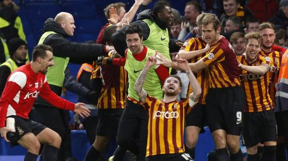 TOP 10 FA CUP SHOCKS…CHELSEA LOSS TO BRADFORD IS 'BIGGEST SHOCK OF ALL TIME'