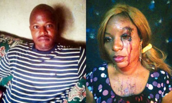 HUSBAND DENIES BEATING WIFE FOR GREETING PASTOR