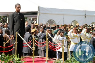 WHITE ZAMBIAN PRESIDENT BOOTED OUT!