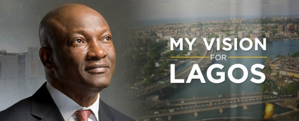 MY VISION FOR LAGOS STATE BY JIMMY AGBAJE
