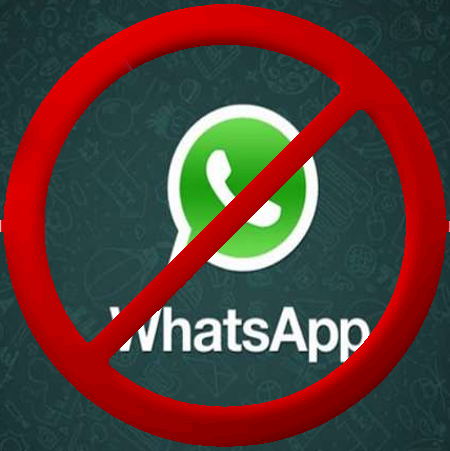 Image result for whatsapp no
