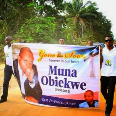 FANS MOURN AS OBIEKWE IS BURIED