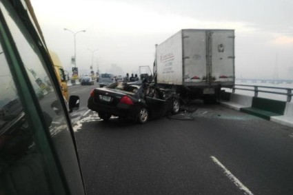 MORE INFO/COMMENTS ABOUT THE TERRIBLE ACCIDENT ON THIRD MAINLAND BRIDGE A FEW HOURS AGO!