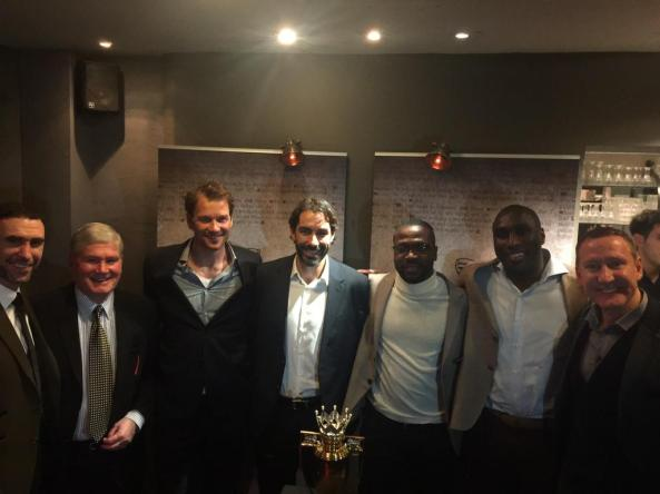 PHOTO: SIX OF ARSENAL'S INVINCIBLES RE-UNITED FOR ONE INCREDIBLE PICTURE!