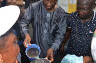 PHOTO STORY...A MAN OF THE PEOPLE...SEE JIMMY AGBAJE IN ACTION ACROSS LAGOS!