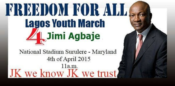 HAVE YOU HEARD?...FREEDOM FOR ALL LAGOS YOUTH MARCH FOR JIMMY AGBAJE...SEE DETAILS HERE