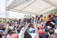 PHOTOS OF SO-CALLED IGBO RALLY FOR AMBODE...APART FROM THEIR LEADERS WHO ELSE HELD A BROOM?...NONE!...COINCIDENCE?