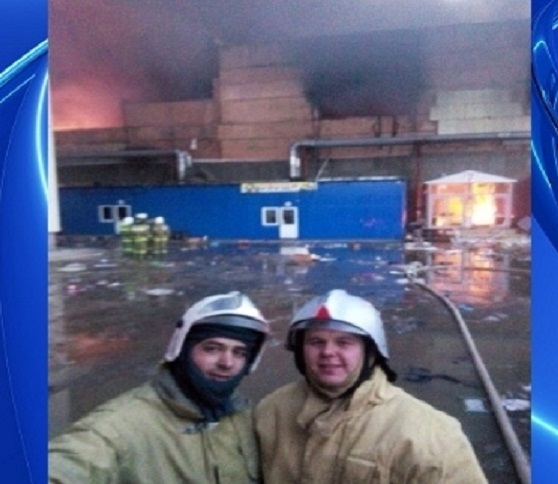 FIREFIGHTERS CAUGHT TAKING SELFIES WHILE BUILDING BURNS TO THE GROUND KILLING 17 PEOPLE
