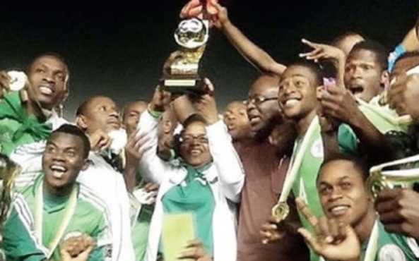 AYC TITLE...ONCE AGAIN,NIGERIAN YOUTH PROVES BEST IN AFRICA