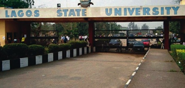 LASU CLOSURE WAS ACCOMPANIED BY VANDALIZATION OF OUR BUSES AND VEHICLES ON THE ORDERS OF FASHOLA'S GOVT...SAY STRIKING STAFF