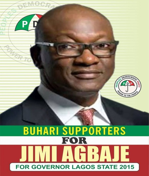 BUHARI SUPPORTERS FOR JIMMY AGBAJE AS LAGOS STATE GOVERNOR...  MOVING FORWARD WITH DOUBLED VIGOR!
