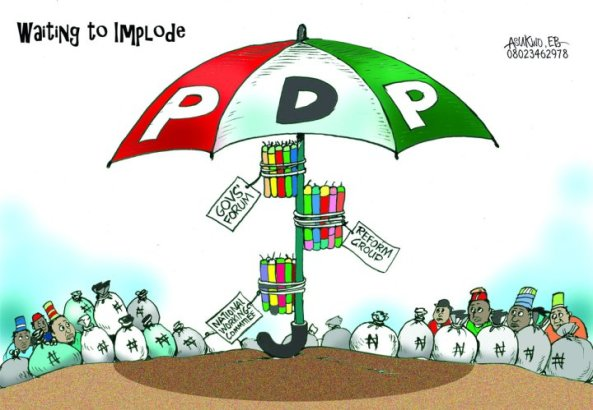 DESPITE WHAT OLISA METUH SAYS WORKERS SING NUNC DIMITTIS MUSIC TO PDP AS A PARTY!