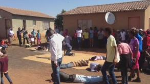 WATCH: CHAOS AS EFF DISMANTLES 'SNAKE PASTOR'S' TENT!