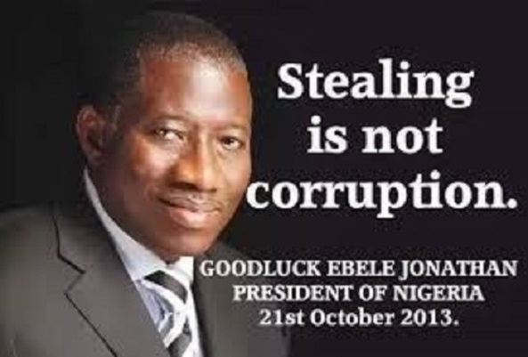 (TAKE NOTE!) STEALING IS NOW CORRUPTION