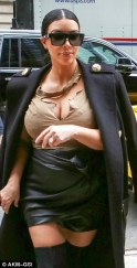 KIM KARDASHIAN LATEST PICS...TRENDY OR TRASHY?...WHAT DO YOU THINK?