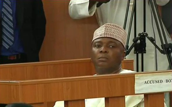 SENATE SUPPORT FOR SARAKI...PANDEMONIUM AFTER VOICE VOTE !