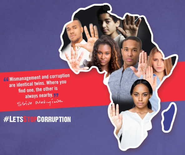 LET'S BE THE GENERATION THAT FIGHTS CORRUPTION… AND ENDS IT!-ECONET CHAIRMAN