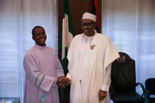 FATHER MBAKA APTLY DESCRIBES PDP AS GANG OF MURDEROUS LOOTERS!