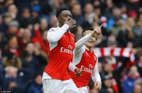 ARSENAL BREAK LEICESTER HEART ON VALENTINE'S DAY!