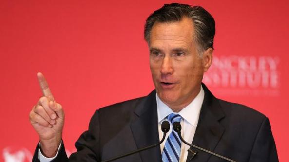 MITT ROMNEY'S WARNING...REPUBLICAN PARTY'S COLLAPSE MAY BE AT HAND...FULL SPEECH ON TRUMP!