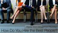 HOW TO RECRUIT THE RIGHT PERSON FOR THE JOB?...TRY NOT TO LAUGH!